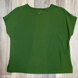 J.Jill Luxe Supima Relaxed Tee